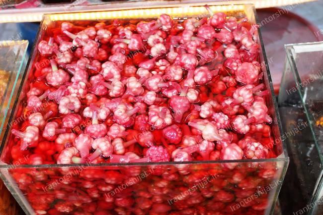 خرید ترشی گل سیر